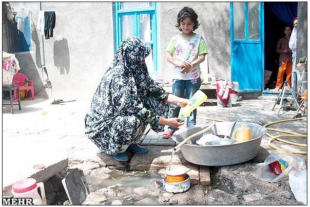 عکسهای فقرای تهران