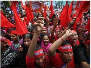 اول ماه مه در داکا ـ بنگلادش